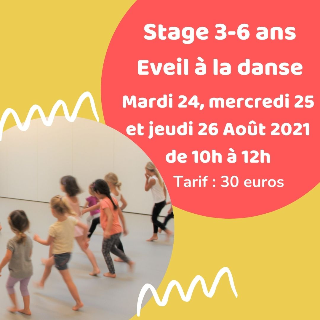 Stage Août 3-6 ans